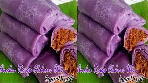 Warna ungu pada ubi ini datang dari substansi antioksidan bernama anthocyanins yang dapat menurunkan tekanan darah bahkan melindungi dari kanker. Various Ubi Processed Recipes For Android Apk Download