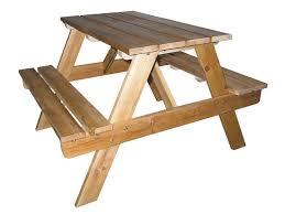 diy kids picnic table