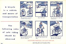 Safety Manual The Retrogrouch Bike Safety 24 Police Safety Council Bicycle 19
