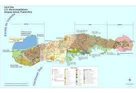 us naval installations map vieques island puerto rico