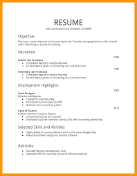 Different Resume Types Types Of Resume Unique Resume Writing Simple