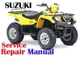 2002 2007 suzuki vinson 500 lt a500f service manual 2002 2007 suzuki vinson 500 lt a500f service repair manual