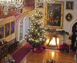 a country house christmas christmas tea childhood and english