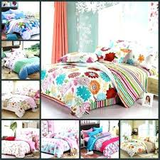 teen girl comforters cute quilts various colorful beautiful flowers girls bedding sets teenage full queen size