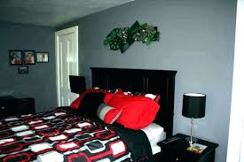 Red And Black Bedroom Ideas Black And Red Bedroom Decor Red And ...