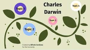 Charles Darwin by Alfredo Cordoves