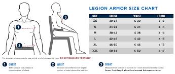 Interceptor Body Armor Size Chart Propper Legion Tactical Non Bulletproof Exterior Soft Body Armor Vest Choose Vest Only Nij Certified Spike Level 1 Level 2 Level 3 Provides