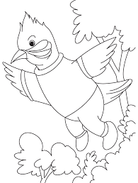 Small Picture A singing nightingale bird coloring page Download Free A singing