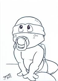 Small Picture Coloring Pages Baby Ninja Turtles Coloring Coloring Pages