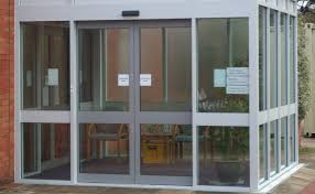automatic sliding commercial doors