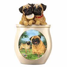 pug cuckoo clock pug dog cookie jar by linda picken