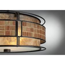 chic mc842src mica 3 light semi flush mount lamp by quoizel lighting for home lighting ideas