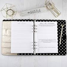 Design Your Own Planner Inserts Amazon Com Goal Planning Planner Inserts For A5 Six Ring
