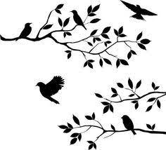 bird branch silhouette clip art. Plain Silhouette Branch Silhouettes Clipart Clip Art Tree Art Intended Bird Silhouette O