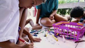 Shape lacing draw a shape on a piece of paper tie the yarn into the first hole and let the kids lace the shapes. Art Therapy Projects Activities For Children With Adhd