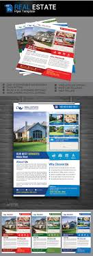 real estate flyer template color option desingning market real estate flyer template 3 color option