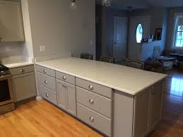 Making A Wall Cabinet Functional Island With A Finished End By Using A Narrow Depth Wall