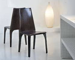 modern leather chair. Crocodile Leather Chair From Ozzio \u2013 Modern Chairs