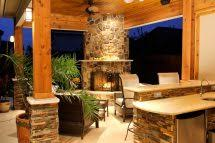 covered outdoor kitchens with fireplace. Exellent With Outdoor Kitchens Fireplaces Patio And Covered With Fireplace