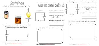 Electricity & Circuits Worksheets   Iman's Home-School
