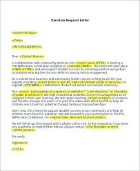 5 Donation Letter Request Template Proposal For School Supplies