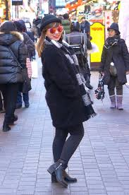 black fur trenchy h m gray fleece jacket uniqlo black hi waist pants jag black and white scarf uniqlo black bowler hat sm department