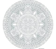 advanced mandala coloring pages free printable col