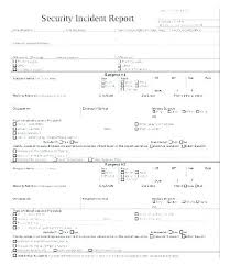 Theft Incident Report Template Police Report Example Car