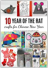 Give them to loved ones to wish a prosperous new year. Chinese New Year Rat Crafts For Kids