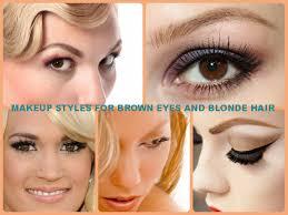 5 cute eye makeup styles for brown eyes and blonde hair