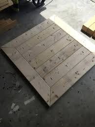 how to build a square table square plank coffee table plans rogue engineer 7 making a