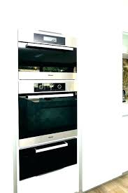 convection triple combo oven 27 inch electric