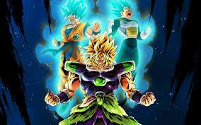 Broly Vegeta Goku Dragon Ball Super ...