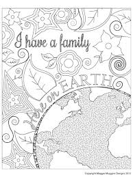 Small Picture Maggie Muggins Designs Family Here On Earth Coloring Page k
