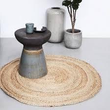 handmade round sisal rug