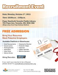 General Help Wanted Warehouse Recruitmen T Event On Oct 3