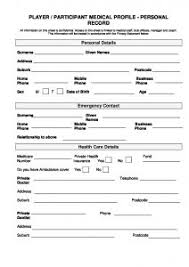 Medical Form In Pdf Player Medical History Form - Football NSW