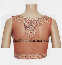 Net Blouse Saree Blouse Designs Pinterest Saree Blouse Net Net Blouse Back Neck Designs Photos