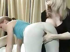 Old Young Lesbian Spanking