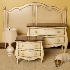 Image Small Picture Of White Vintage Sidebed Table With Drawers And Antique Headboard Mfclubukorg Bedroom Picture Of White Vintage Sidebed Table With Drawers And