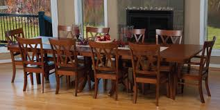 Small Picture Stunning Dining Room Table With 10 Chairs Images Room Design