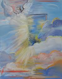 open door painting. Prophetic Painting - Open Door From Heaven By Patricia Kimsey Bollinger H