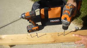 impact driver uses. impact driver vs. drill - performance test uses