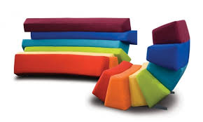 colorful furniture. Colorful Furniture With All The Colors Of Rainbow Adorable Home N