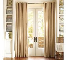 patio door window treatments curtains