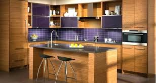 purple backsplash