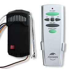 ceiling fan remote control and receiver complete kit replace hampton bay uc7078t with up down light