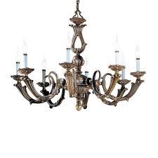 classic lighting alexandria iii 23 in 8 light victorian bronze vintage candle chandelier