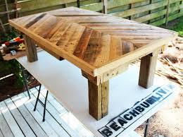 image of outdoor furniture with pallets
