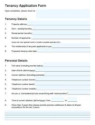 Rental Application Form Printable Lease Agreement Louisiana Template ...